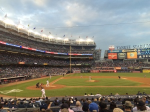 First Yankee Game
